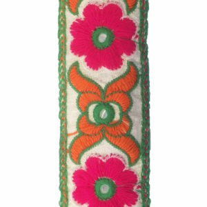 Pink-Flower-Embroidery-Lace