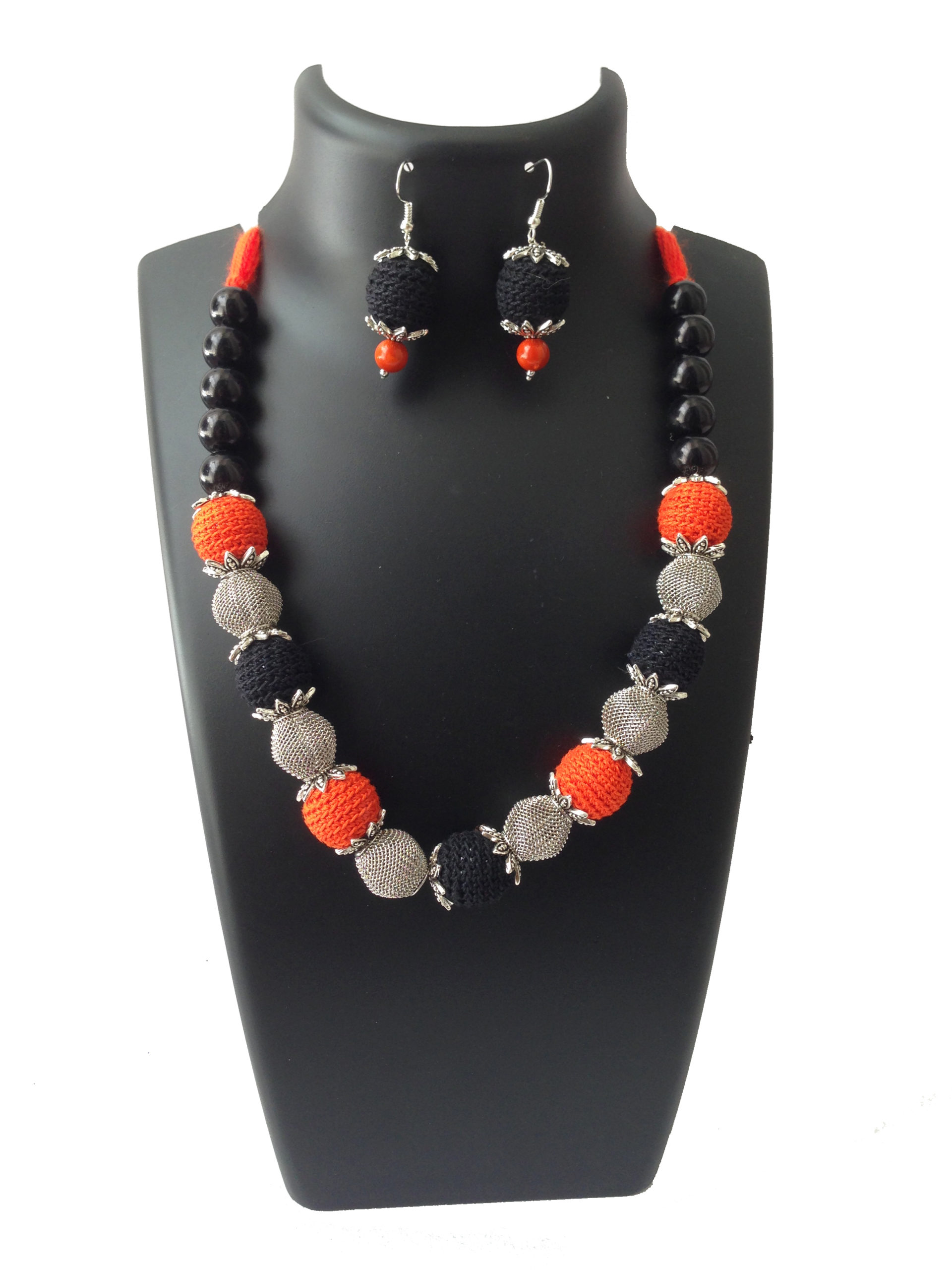 black-orange-necklace