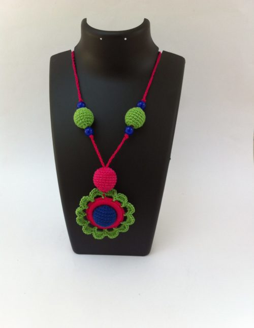 Green-pink-necklace