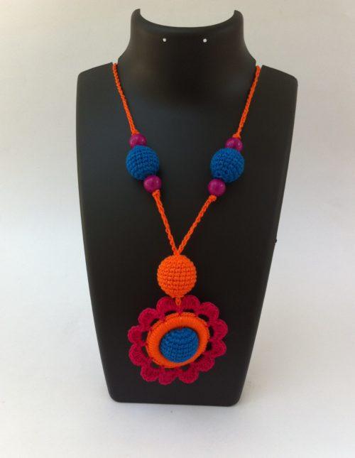 Red-orange-necklace