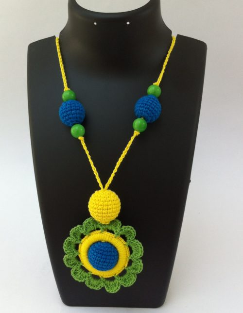 Green-yellow-necklace