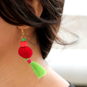 tassels earrings rangpitaara