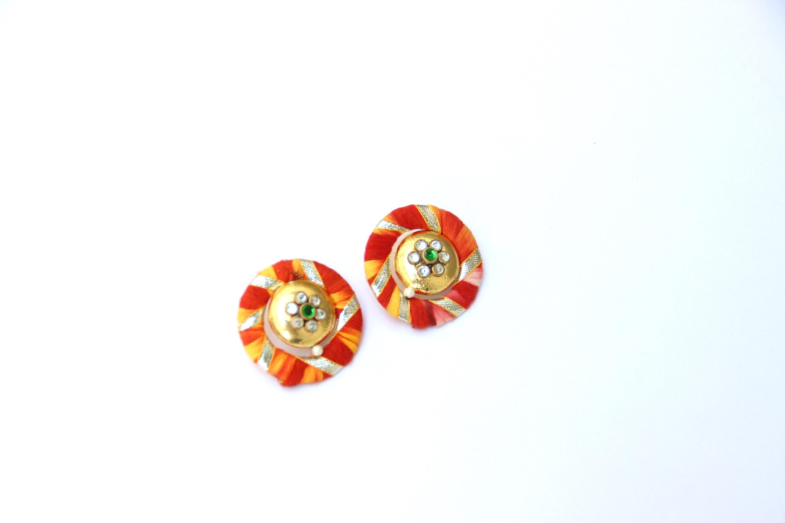 Gota Patti Earrings