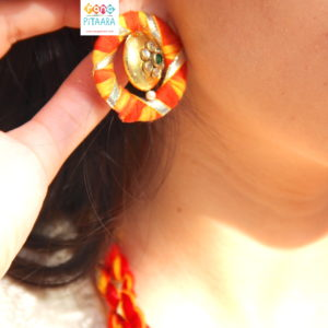 Gota Patti Earrings