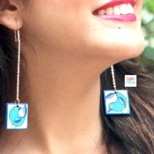 Handpainted-earrings