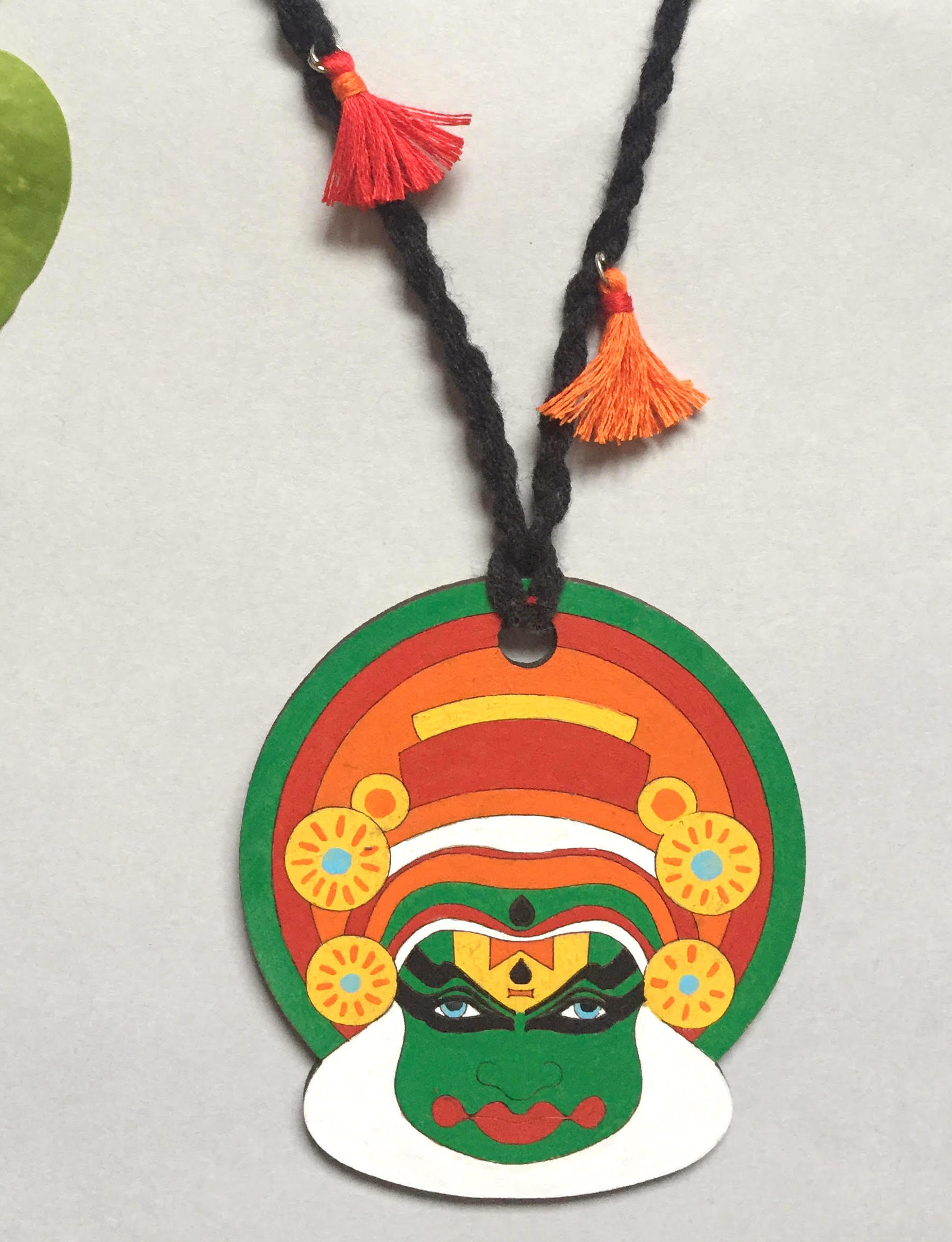 Hand Painted Necklace