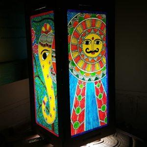 Madhubani Lamp Shade